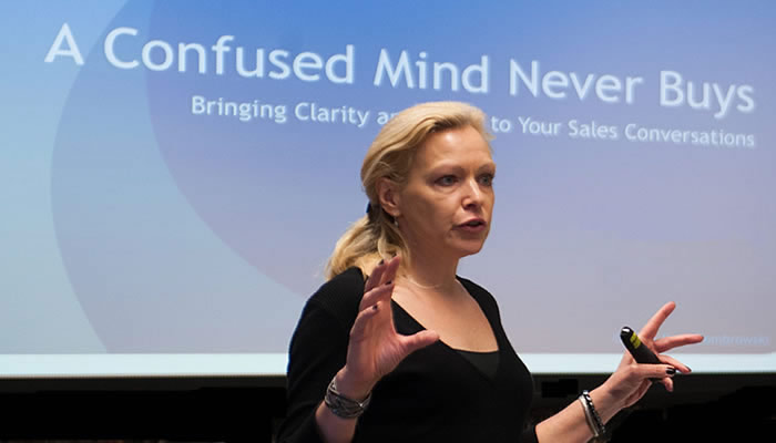 Mary Dombrowski - Six Keys to Closing More Sales